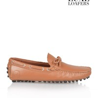 LUXE LOAFERSMONACO LEATHER LOAFER - BROWN