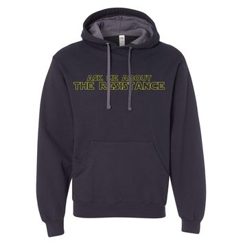 Ask Me About The Resistance (Star Wars) -- Sweatshirt