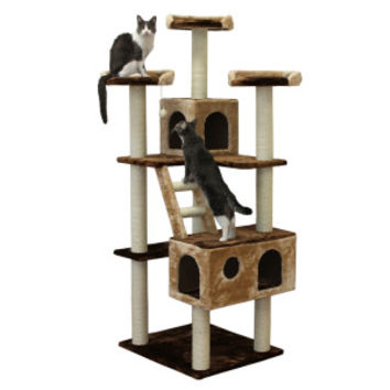 Kitty Mansions beverly Hills Cat Tree | Furniture & Towers | PetSmart