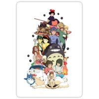 'Studio Ghibli Characters' Sticker by EtherealGarden