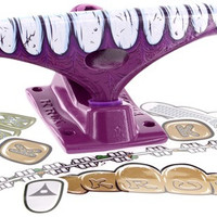 Krux 8.0 Downlow Curb Chomper II Purple Hollow FOrangeed