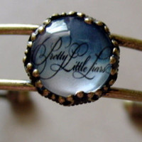 NEW Antique Brass Pretty Little Liars bracelet.