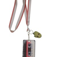 Licensed cool Marvel Guardians of the Galaxy VOL. 2 Groot Tape ID Holder Lanyard rubber charm