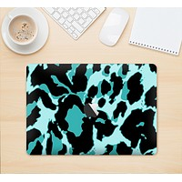 "The Vector Hot Turquoise Cheetah Print Skin Kit for the 12"" Apple MacBook"