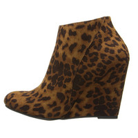 Madden Girl Wedge Leopard Fabric - Zappos.com Free Shipping BOTH Ways