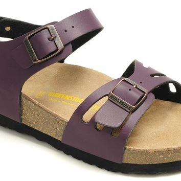Birkenstock Bali Sandals Artificial Leather Purple - Ready Stock