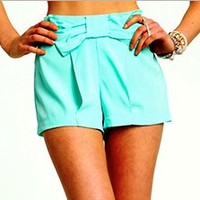 Bow Tie Pastel Shorts