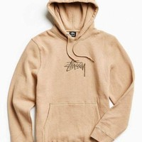 "One-niceâ""?Stussy Casual Hoodie Drawstring Top Sweater Sweatshirt"
