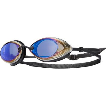 TYR - Tracer Racing Ice Swim Goggles / Clear Mirror Ice Lenses