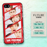 One Direction iPhone 4 case Idol Boy Band iPhone case iphone 4s case iphone 4 case iphone 4g case Hard or Soft Case-OD03