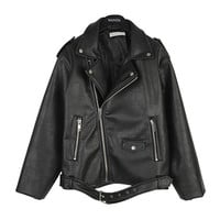 Boy-Fit Chic Rider Jacket