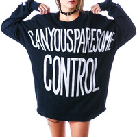 UNIF Spare Control Long Sleeve Black