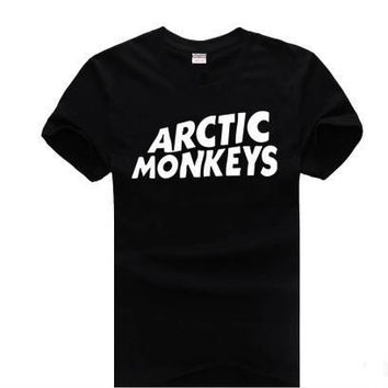 Arctic Monkeys Women's Casual Black T-Shirt