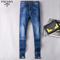 Prada Fashion Casual Pants Trousers Jeans