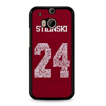 Stiles Quote Jersey Stilinski HTC M8 Case