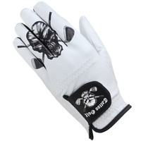White Cabretta Leather Men's Golf Glove (For Left Handed Golfers)