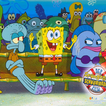 SpongeBob SquarePants Movie (German) 11x14 Movie Poster (2004)