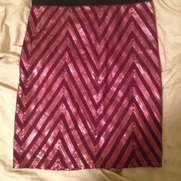 Sequin Pencil Skirt (Tuck Quick!! Shutting Down In A Few Days) (Free People)