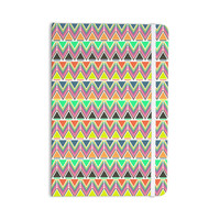 "Nandita Singh ""Pattern Play Multi"" Rainbow Chevron Everything Notebook"