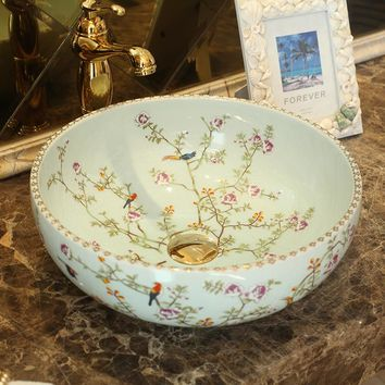 KBS Europe Vintage Style china Artistic Handmade porcelain