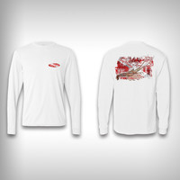 Spiny Lobster Diver - Performance Shirt - Fishing Shirt
