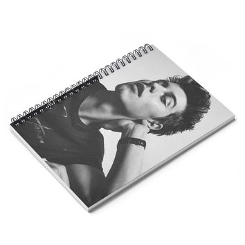 Shawn Mendes Spiral Notebook - Ruled Line