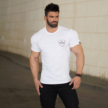Sports Casual Permeable Slim T-shirts [10657852739]