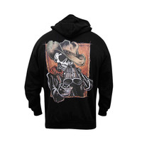 Lowbrow Art Company Draw Hoodie by David Lozeau