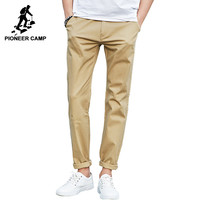casual pants men clothing High quality Summer Spring Long Khaki Pants Elastic male Trousers men