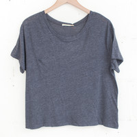 Boyfriend Charcoal Tee | Parc Boutique