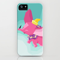 The Flying Elephant iPhone & iPod Case by Mario Graciotti