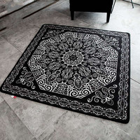 Black +White Wedding Living Room Carpet Thick Floor Blanket Yoga Mat Bedroom Fur Rug And Carpets For Home Decor