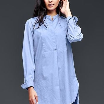 Gap Women Collarless Tunic Henley