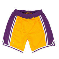Mitchell & Ness HWC NBA Authentic Shorts Los Angeles Lakers