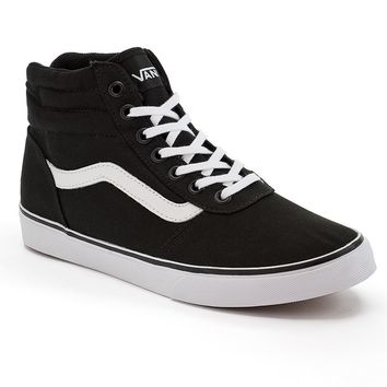 Vans Milton Women s High-Top Skate Shoes from Kohl s 4e43898be3