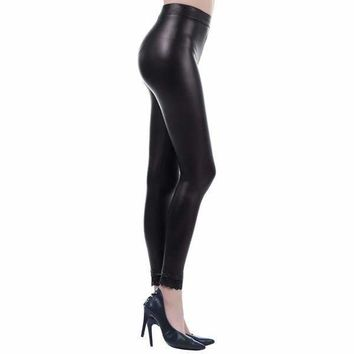Liquid Matte Metallic Leggings