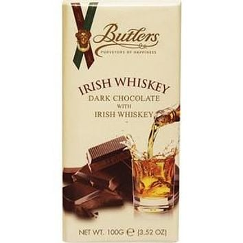 Irish Whiskey Dark Chocolate Bar