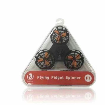 FLYING Fidget Spinner Hand Toy Fidgets Toys New led Fingers Spinner electric will fly at the tip of the tip (5 PIEcE ORDER)
