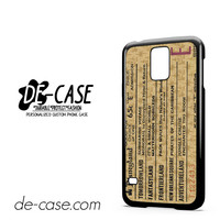 Disneyland E Ticket Disney For Samsung Galaxy S5 Case Phone Case Gift Present