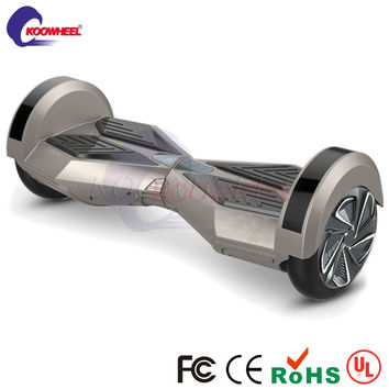 "2016 Koowheel 8"" LED two-wheel self balancing scooter balance board xiaomi oxboard hoverboard bluetooth skateboard with speaker"