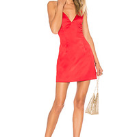 by the way. Kacie Satin Mini Dress in Red | REVOLVE