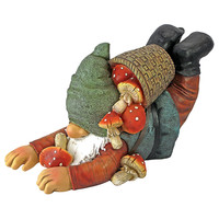 Park Avenue Collection Clumsy Karl The Mushroom Hunter Gnome