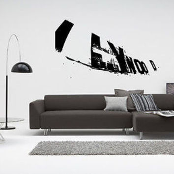 Hollywood Wall Decal Hollywood Sticker Movie Star Room Living Room Decor 3734