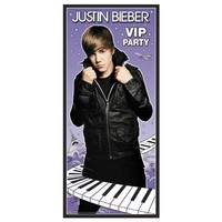 Unique 193172 5 ft. Justin Bieber Door Poster