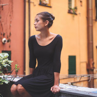 Black Bamboo -Little Black Dress