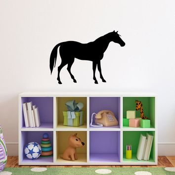 Horse Wall Decal - Horse wall art - Girl Bedroom Wall Decal - Horse Wall Sticker - 3
