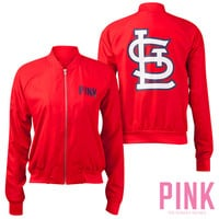 St. Louis Cardinals Victoria's Secret PINK® Varsity Jacket - MLB.com Shop