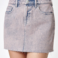 PacSun Acid Wash Denim Mini Skirt at PacSun.com