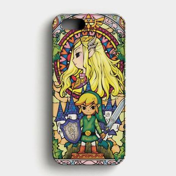 Legend Of Zelda Quote iPhone SE Case