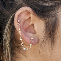 Simple Earring Chain